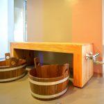 Nederland, Westhem, 11-11-2016. In opdracht van de Pollepleats heeft Bouwgroep Noord een sauna/ wellness  gerealiseerd aan het water.